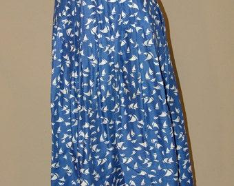Vintage Long SKIRT, Brooks Brothers, 1980s
