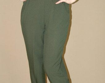 """Vintage """"Blair"""" Green Pants"""