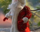 Needle felted Santa. Waldorf . For custom orders