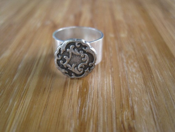 Iniquity Silver Ring