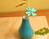 Reserved for lks99  - Turquoise Organic Vase (x3) - Ceramic Vase / Contemporary Functional Ceramics for Your Home