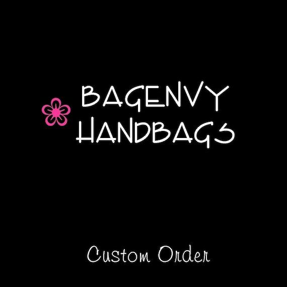 Custom Listing For (berasmine35) - Custom Bridesmaid Clutches Set Of 6