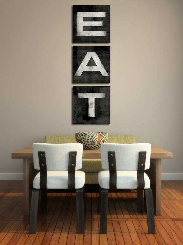 Kitchen Canvas Wall Art made to order custom wall art kitchen decor archival