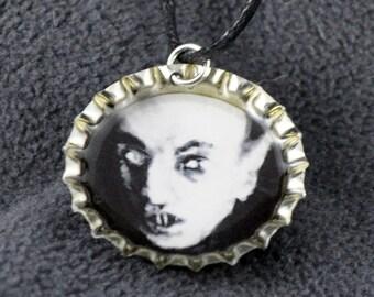 Nosferatu Bottlecap Necklace