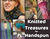 ebook PDF Knitted Treasures for Handspun Yarn 5 patterns tutorial e-book SELL items knit from this