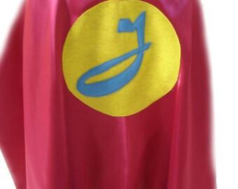Childrens Custom Personalized Superhero Birthday Kids Cape