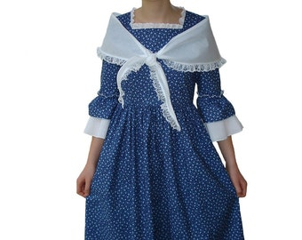 Custom Boutique Historical COLONIAL WORK DAY Adult Size Costume Dress