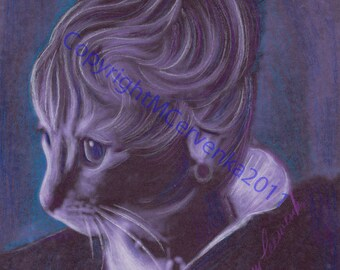Natasha Cat From Tolstoy's War and Peace