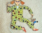 Jumping Jack Paper Puppet
