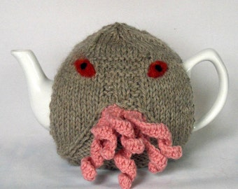 Made to Order - Ood  Tea Cosy - a warm and fuzzy sweater for your teapot