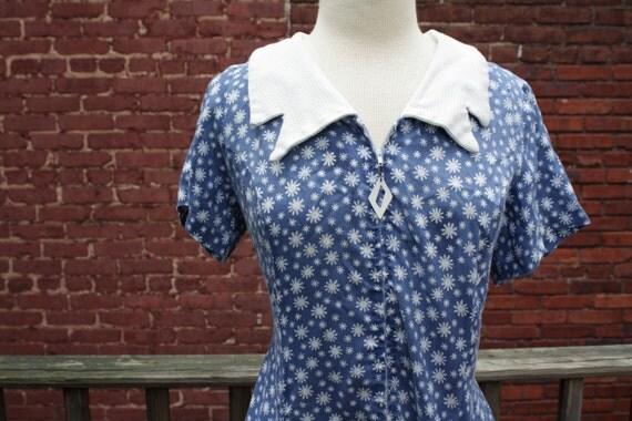 STOREWIDE SALE 50's Ice Cream Parlour Dress - XL