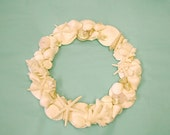 Beach Decor - Seashell Wreath