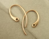 5 Pairs of Solid Bronze Stunning Ear Wires - 20 gauge - Made in the USA
