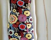 Luscious flower apron