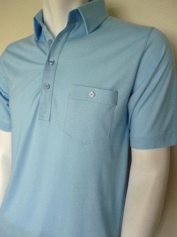 Vintage Apparel Men's 80's Polo Shirt, Short Sleeve by London Fog 3391 FreshandSwanky on Etsy