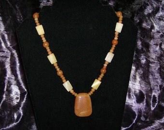 Carnelian Single Strand Necklace