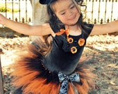 Witch Halloween Costume 4 pc. set- Coco the Couture Witch