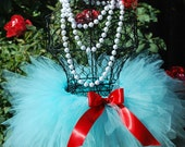 Fabulous Triple Layered Aqua Tutu Perfect for Birthdays Dress Up Photography or Dance