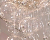 DIY Glass Bubble Chandelier kit for weddings - includes balls and instructions