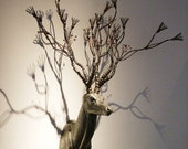 The Truth About Myth- Deer Head Trophy Sculpture