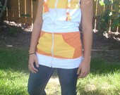 Sunshine Superman Hoodie Vest: S, M, L