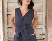Braided Linen Dress NEW 2012 Collection