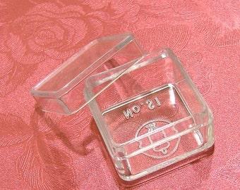 Tiny Clear Plastic Box - 12pcs Square Boxes