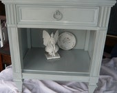 Hollywood Regency Bedside Accent Table Vintage Poppy Cottage PAINT to ORDER