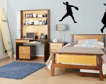 Baseball decal-Baseball sticker-Boys bedroom decal-Sport wall decor-28 X 50 inches,4035-SP