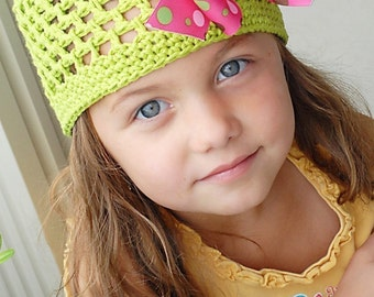 Sofie Kufi Hat Crochet Pattern *Instant Download* (Permission to sell all finished products)