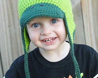 Little Dino Crochet Hat Pattern *Instant Download*(Permission to sell all finished products)