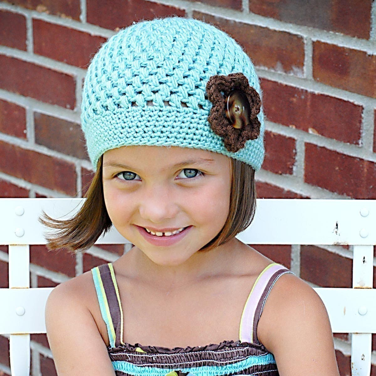 Chloe cap crochet hat pattern instant download permission zoom bankloansurffo Choice Image