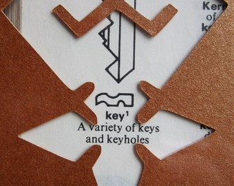 Kingdom Hearts Keyblade Wielder - Custom Cut Bookmark