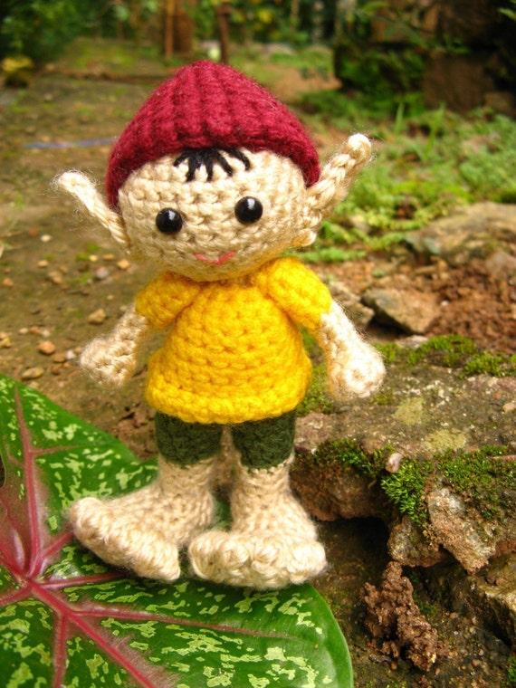 Amigurumi  Elf - Crochet Pattern PDF