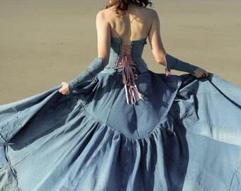 Wedding Dresses Denim