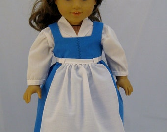 American Girl sized  Belle Provencial Dress