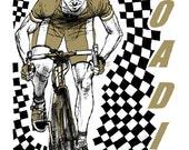 The Roadie - 9x12 Print