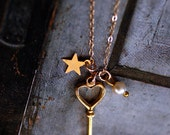 A charming Key necklace