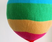 Knit your own hot air balloons (pdf knitting pattern)