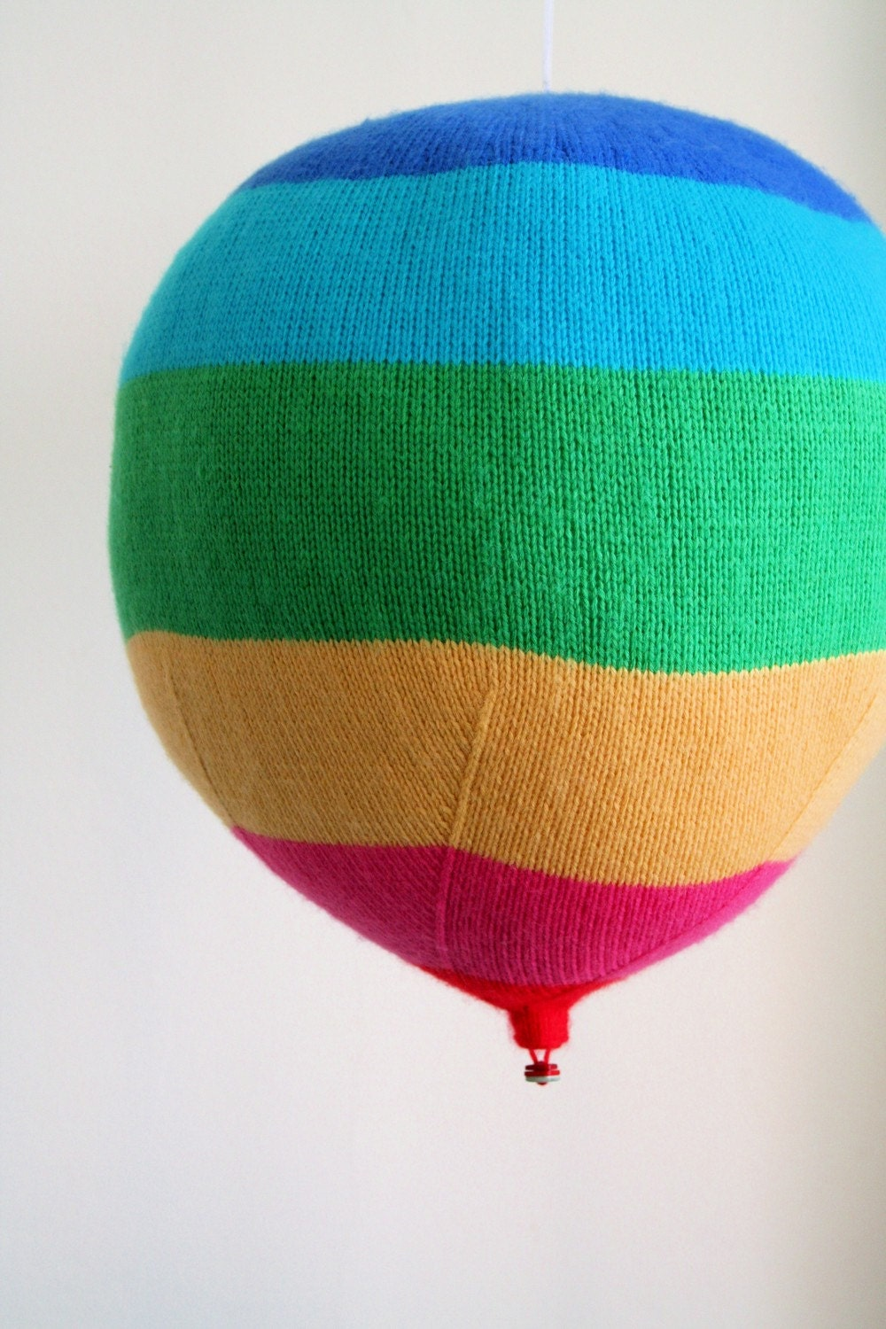Knit your own hot air balloons pdf knitting pattern