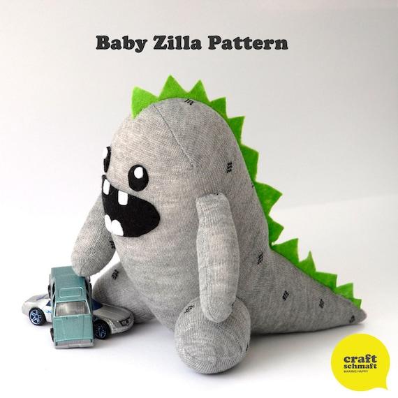 Baby Zilla Pattern (PDF)