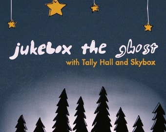 Jukebox the Ghost in Washington DC - Screen Printed Gigposter