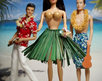 Hula Barbie Fine Art Photograph