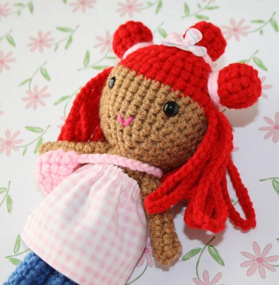 Pretty red hair doll