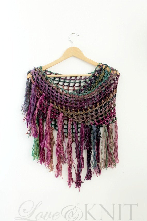 Crochet Triangle Scarf- Triangle Scarves- Knit Shawl- Crochet Shawl- Wraps Shawls- Shawl Scarf- Fishnet Shawl- Fishnet Scarf- Wool Shawl