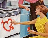Vintage Advertisement - Mom Love - Her Modern Appliances - Mad Men era original - 1960