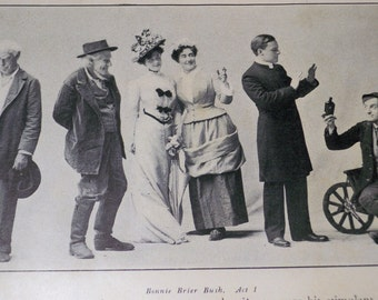 Vintage  - Silly Scenes - 3 Pack Photographs of 1890s - Special Price