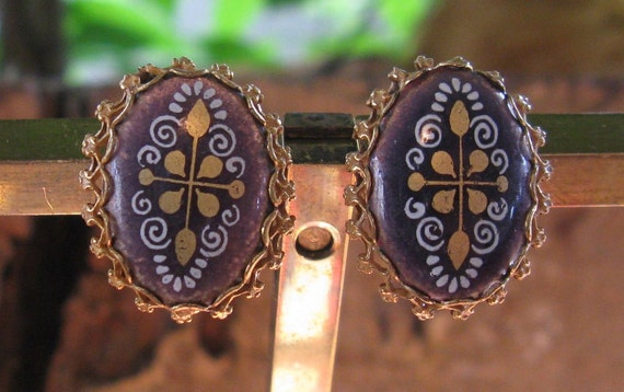 MIRIAM HASKELL Earrings  (E-2-1)