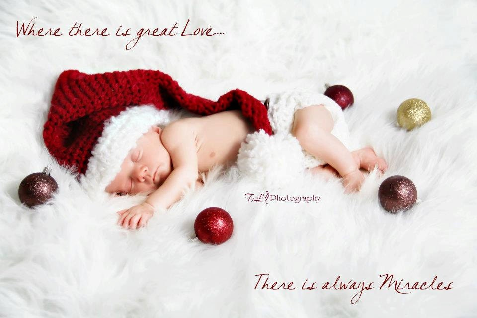 Baby photo prop christmas hat and diaper cover you pick the for Cute baby christmas photo ideas