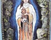 Art4thesoul retablo retablos st rose rosalia spanish colonial icon